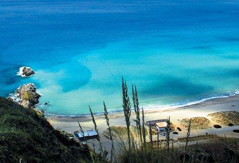 Cilento, le acque cristalline del Golfo di Velia. http://www.familygo.eu/viaggiare_con_i_bambini/campania/cilento/cilento_mare_bambini.html