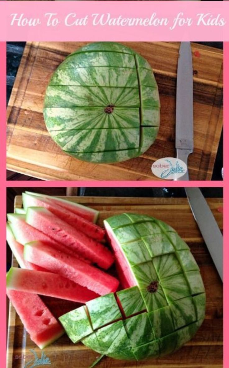 How to watermelon...