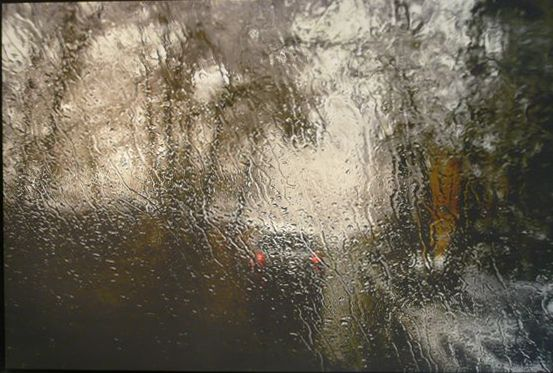 Abbas Kiarostami, Rain, 2007, Photograph on canvas