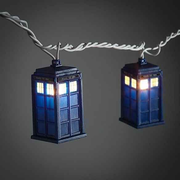 Luzinhas do Doctor Who.