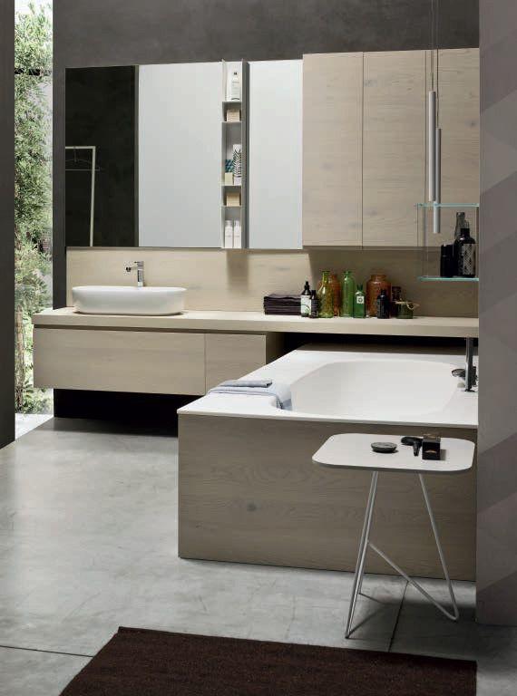 oak bathroom cabinet vanity unit soul composition 03 arcom