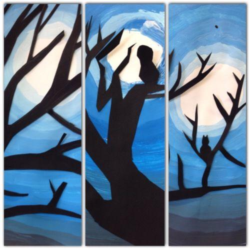 Arts visuels : Clair de lune