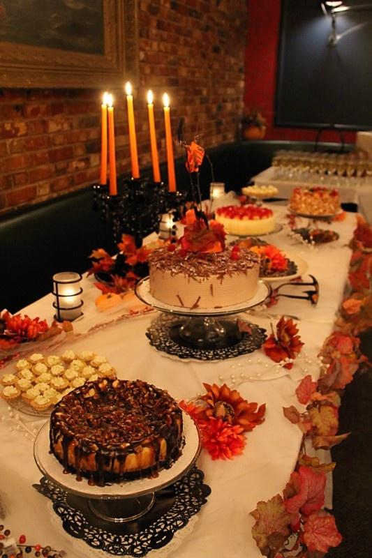 Fall Wedding Dessert Table Cake Pastel Pinterest