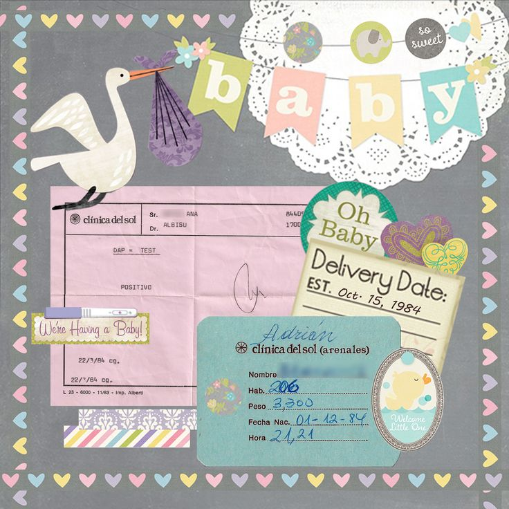"""MY+MIDDLE+SON+-+FROM+""""POSITIVE""""+TO+BIRTH - Scrapbook.com"""