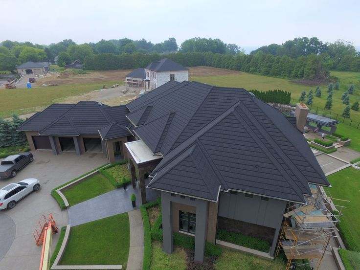 Luxury Home With An Allmet Roof
