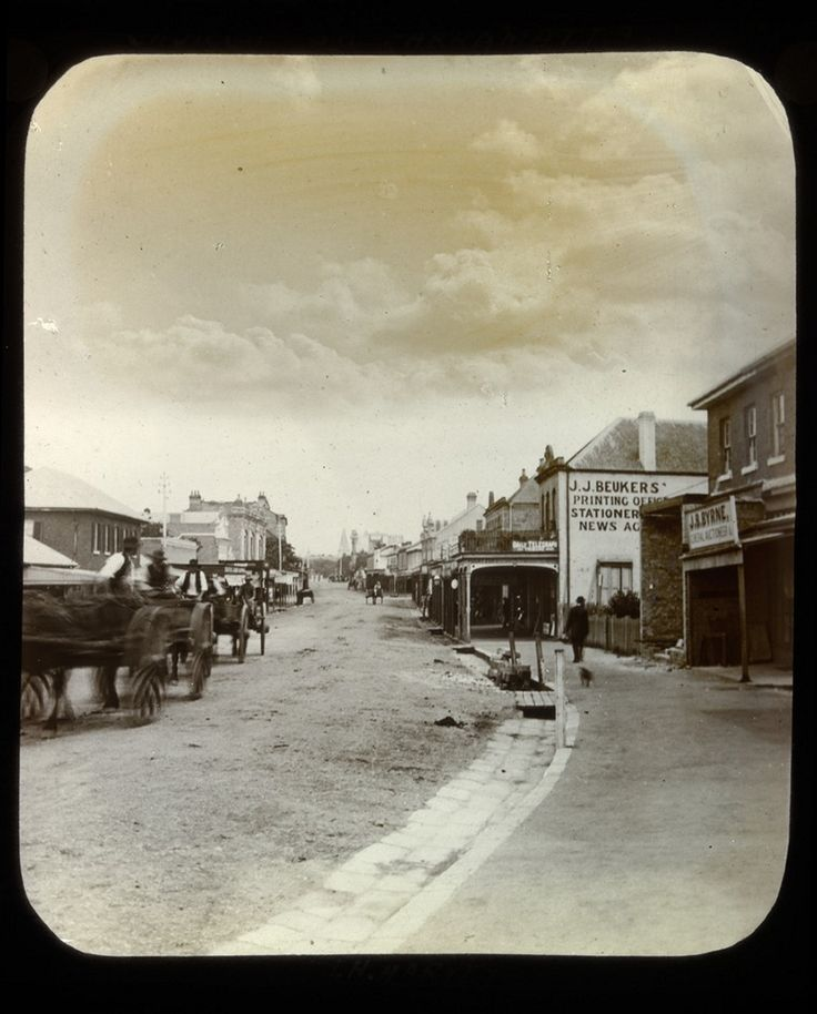 Church Street Parramatta c1890. History Parramatta NSW