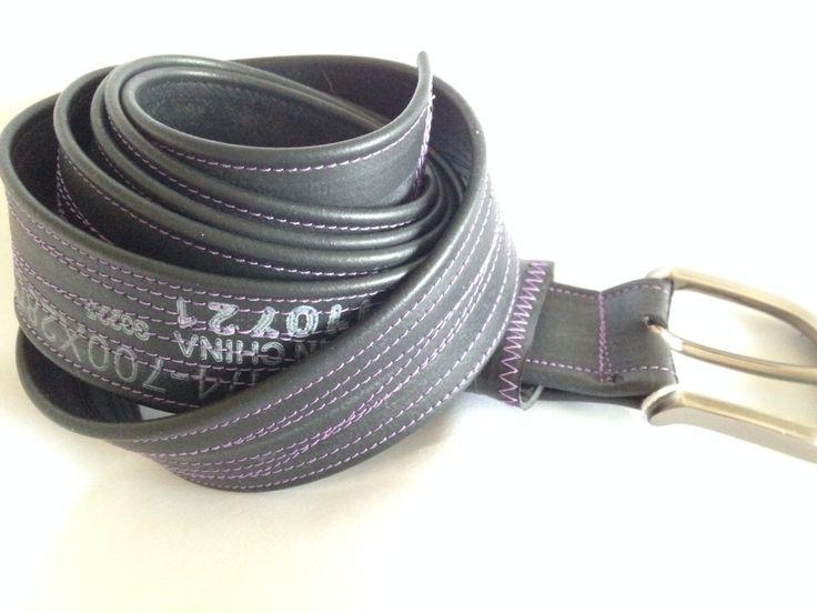 Skinny inner tube belt