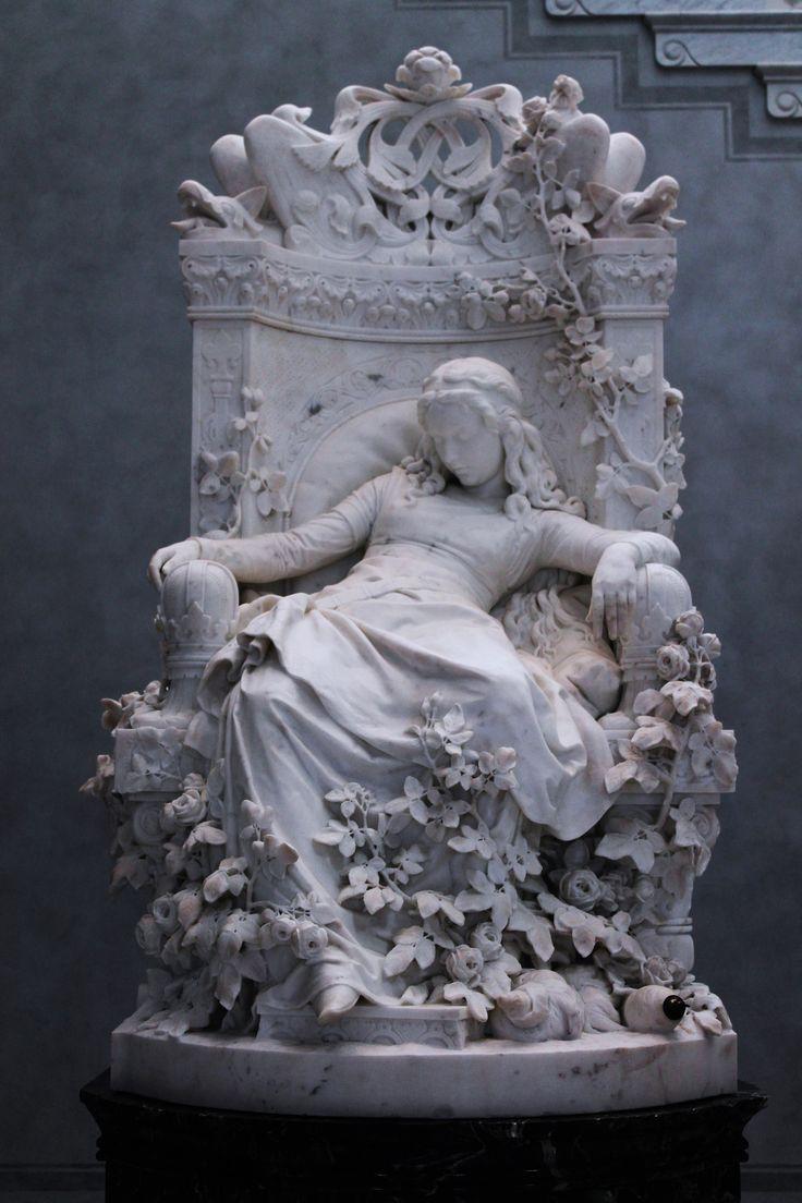 louis sussmann-hellborn - sleeping beauty, 1878