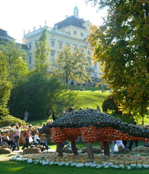 World's Largest Pumpkin Festival in Ludwigsburg Germany