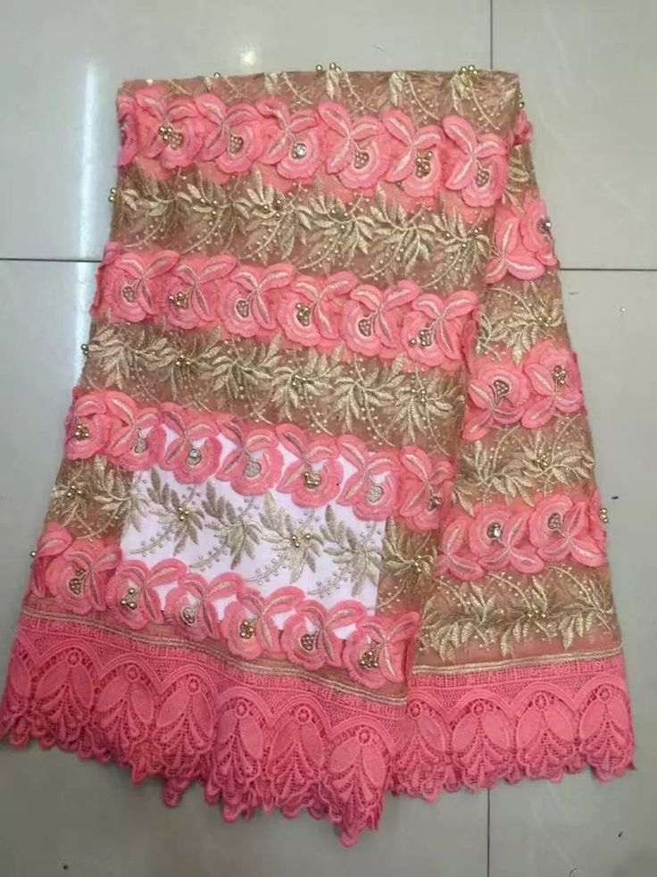 Find More Lace Information about TS 18 Pink african embroidery organza lace,organza embroidered dress material fabric suppliers for African wedding ,High Quality organza lace,China lace supplier Suppliers, Cheap embroidered dress material from Freer on Aliexpress.com