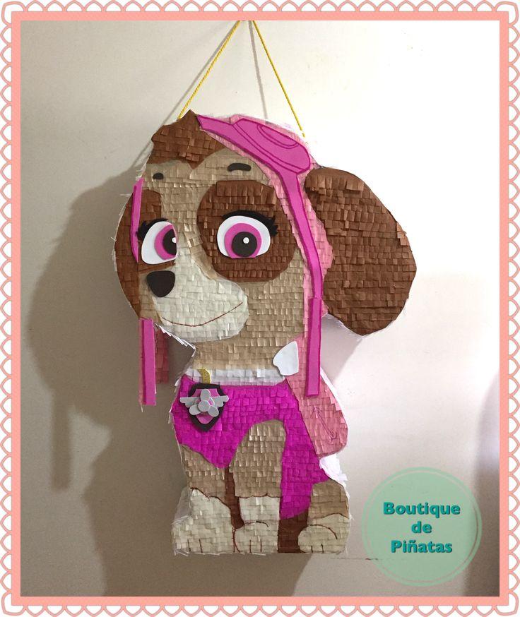 Skye • Piñata • Paw Patrol • envíos a todo México $580 • 2-3 elaboración y 5-7 días hábiles de envío.