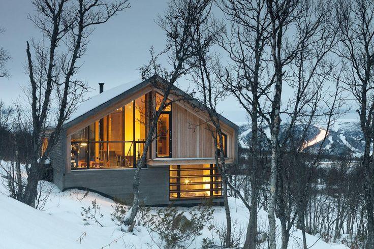 Cabin Haugen in Norway by Lund Hagem Arkitekter