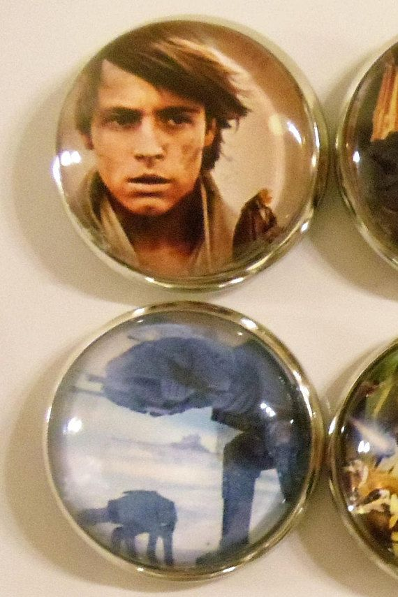 One Inch Refrigerator Magnets of the Classic Star Wars
