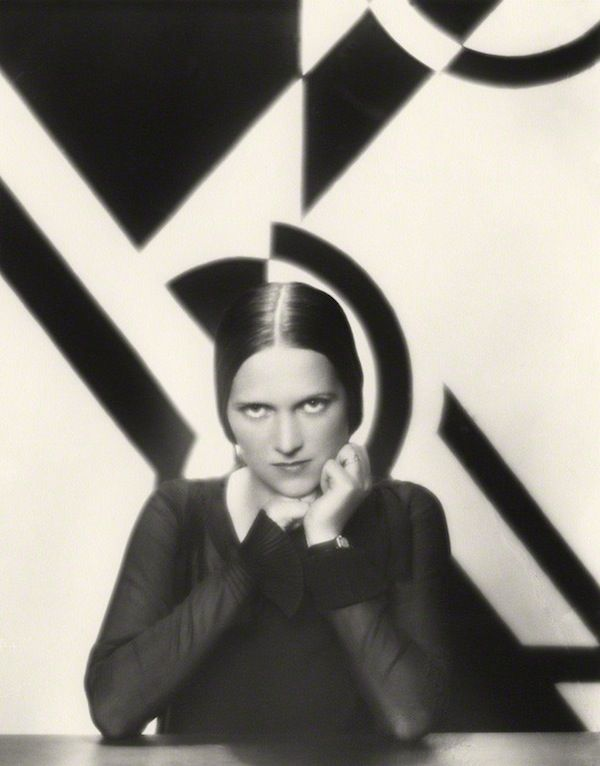 """Paul Tanqueray: Portrait of Ethel Mannin, 1930. Mannin was a British writer, politically  active, and in the 1930's was prominent in anti-imperialist activity on behalf of African nations. She stated her """"opposition to capital punishment, orthodox education and blood sports."""" She supported the Republicans against Franco, but was a pacifist during WWII. Fascinating woman who lived a long life and published on many topics, including seven memoirs."""