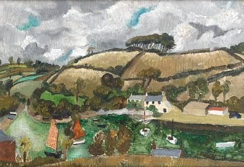 Landscape (Cumberland) (1928) by Christopher Wood