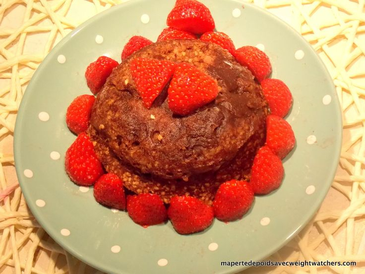 Bowlcake chocolat - Ma perte de poids avec Weight Watchers