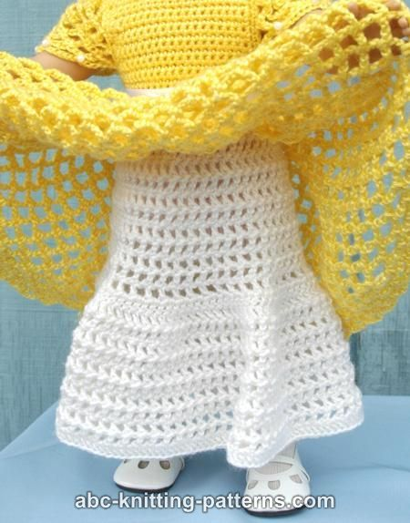 Knitting Pattern Abbreviations American : 1000+ ideas about Crochet Doll Dress on Pinterest Crochet Dolls, Doll Dress...