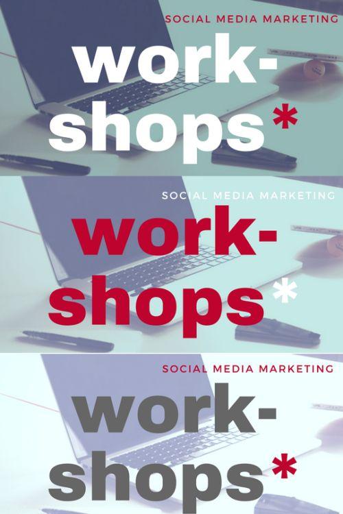 Workshops in Johannesburg in October