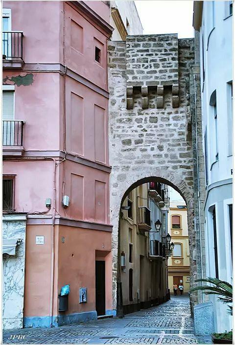 El Arco de la Rosa. #Cádiz