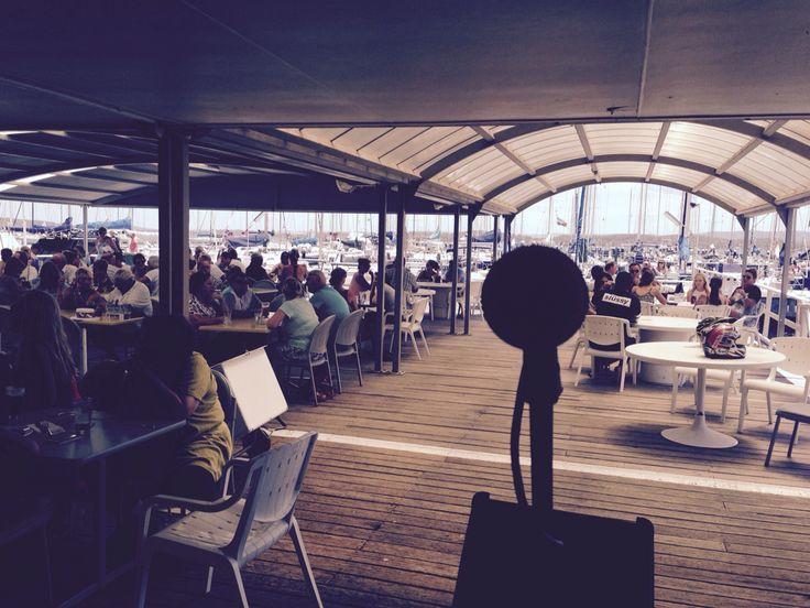Awesome view at Lake Mac Yacht Club!