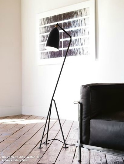 grasshopper floor lamp 1947 designed by greta grossman. Black Bedroom Furniture Sets. Home Design Ideas