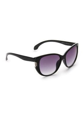 Sleek Black Frame Sunglasses Price: Rs 999