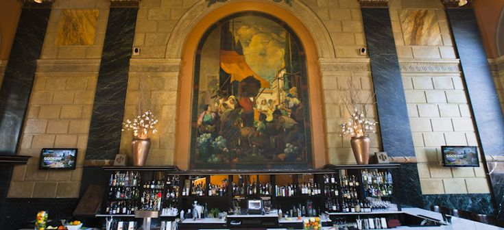 CLEVELAND: Great Ohio City location, in an old bank - stunning interior! I haven't had an opportunity to eat here yet, but next trip home to Cleveland, it's my first stop. Can't wait to try Mr. Figgy!