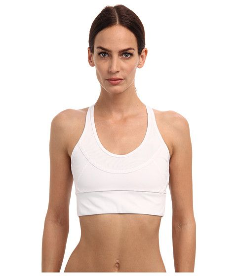 Adidas By Stella Mccartney - White Essentials Performance Bra