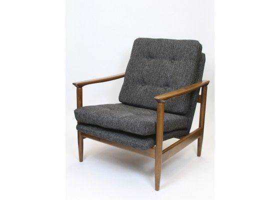 GFM-142 Armchair by Edmund Homa for Gościcińskie Fabryki Mebli - Armchairs - Seating - Furniture - Products