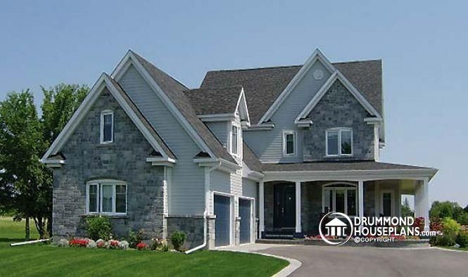 38 best house plans images on pinterest cottage small for Garage plans with office space