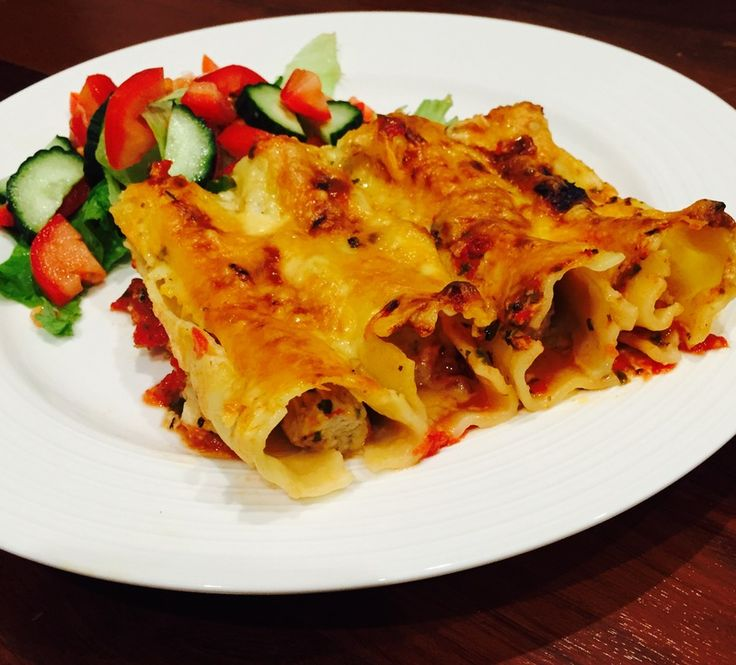Zesty tasty sauce and filling make this cannelloni with melted cheese a great family meal. The lemon and oregano combine to give the sauce and filling a great flavour. It can be made low FODMAP, gluten and lactose free.