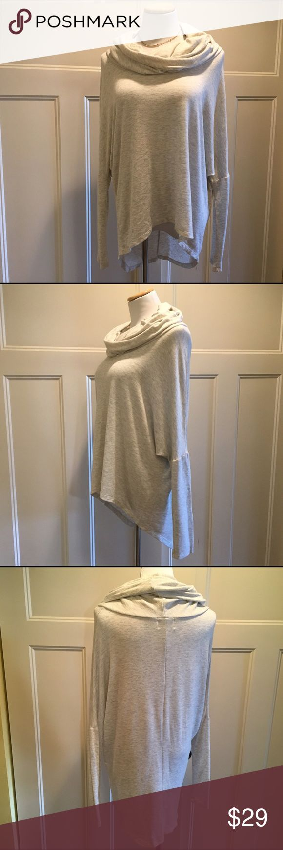 Cream batwing NORDSTROM top cowl neck top Gorgeous like new top. Size tag removed but i wear M\L. So soft & beautiful. Buy with confidence im a suggested user. Madison & Berkeley Tops