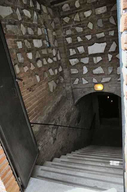 Entrance to San Callisto Catacombe, Rome