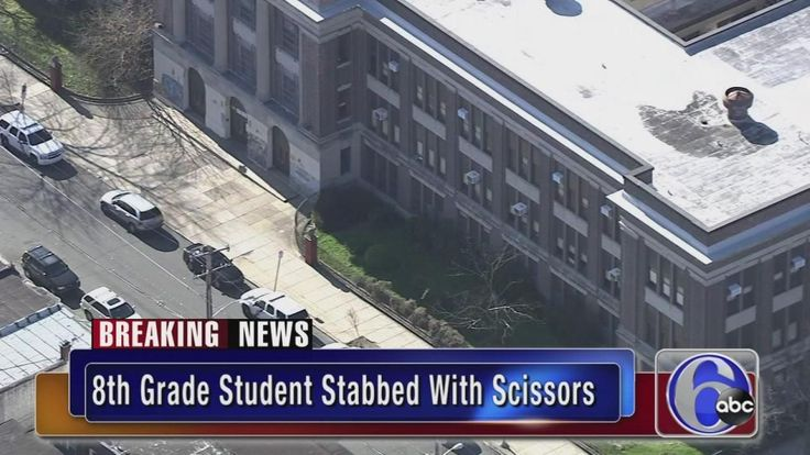 The Philadelphia School District says an 8th grade girl is recovering after being stabbed by another 8th grade girl at Cooke Elementary School in Logan.