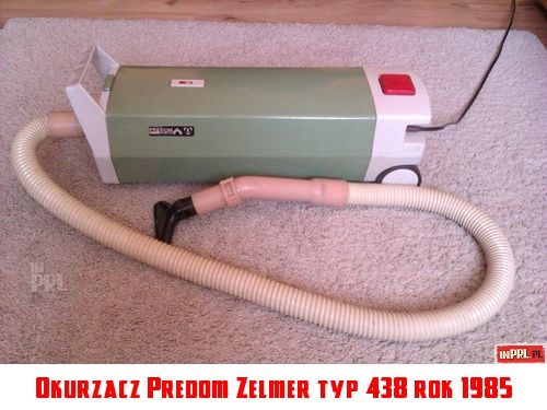 odkurzacz Predom Zelmer Typ 438, rok 1985