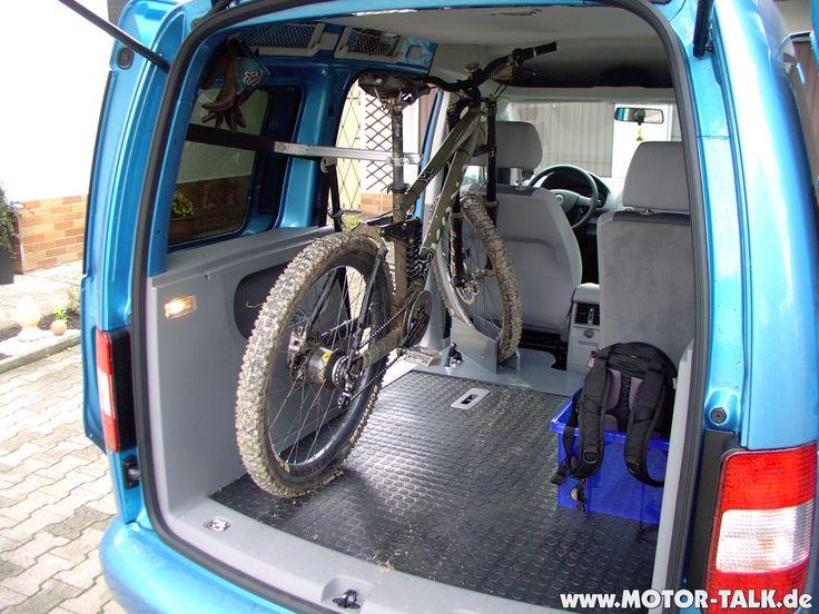 Caddy-Fahrradhalterung