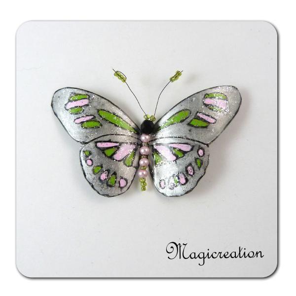 MAGNET PAPILLON CLEOPATRE - Boutique www.magicreation.fr