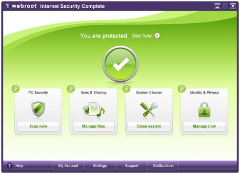 Webroot – antivirus and mobile protection.