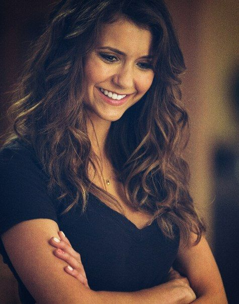 Nina Dobrev : God must have devised her in his full leisure , providing this bundle of beauty .