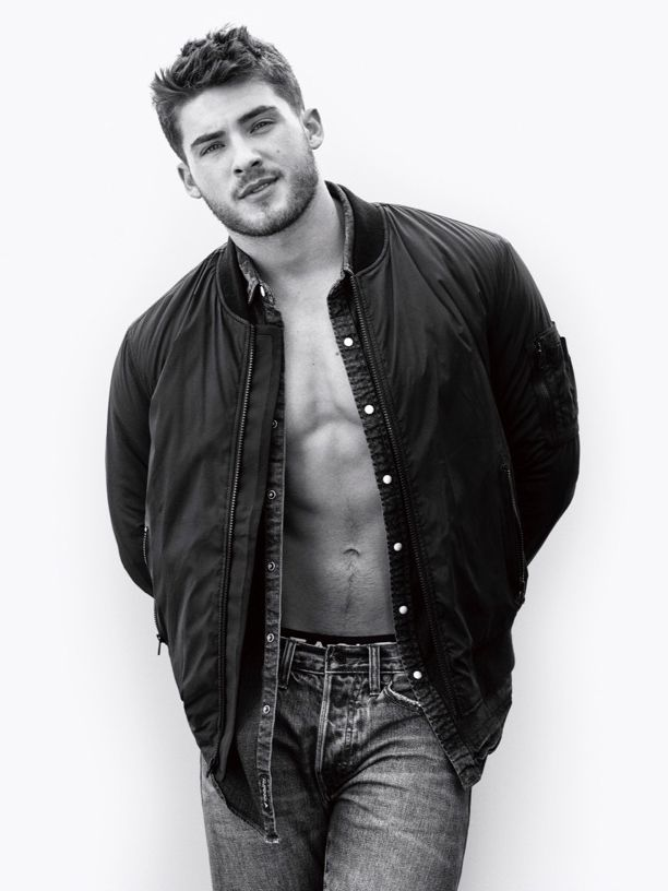 """fashionobsessed3: """" Cody Christian for American Eagle's fall-winter 2016 campaign by Cass Bird """" ....jaw dropped."""