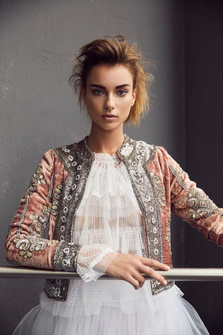 ROSE VELVET JACKET | SETA APPAREL... ❤ this jacket!!!