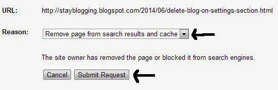submit request gwt