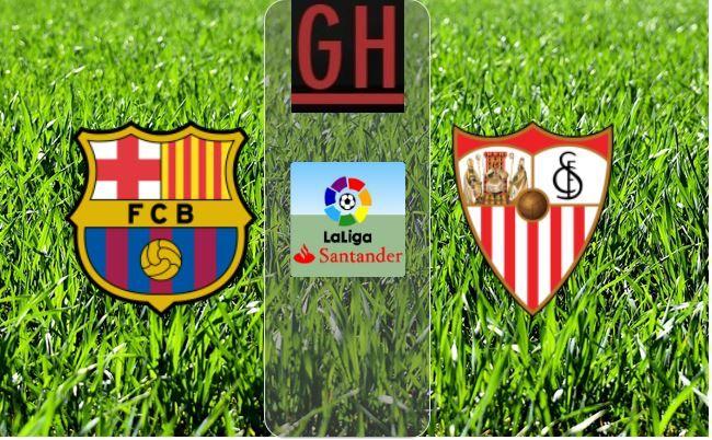 Watch Barcelona Vs Sevilla Laliga Santander 2020 2021 Football Highlights Santander Soccer Highlights Soccer Highlights Videos