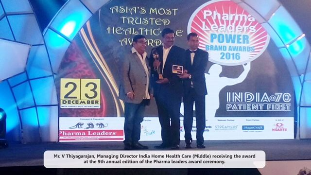 """#IndiaHomeHealthCare (#IHHC) Honoured with Jury Award for """"India's Most Promising Home #Healthcare Service Provider 2016"""""""