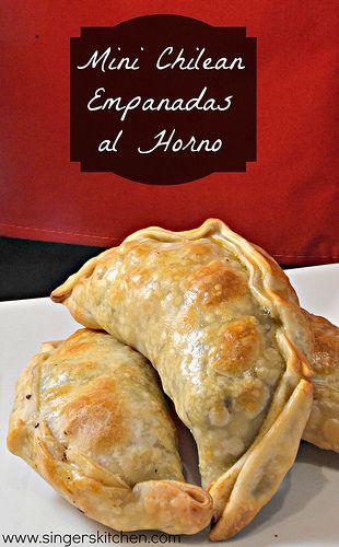 Recipe Flashback: Mini Chilean Empanadas al Horno