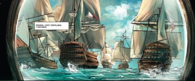 Recensione comics Napoleone ascesa caduta