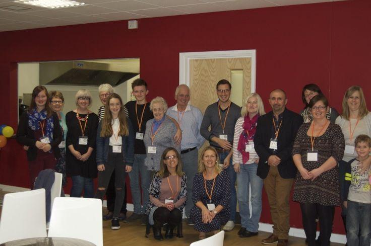 Our wonderful volunteers team - CringlefordHub
