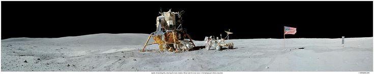 Apollo 16 Photo panorama