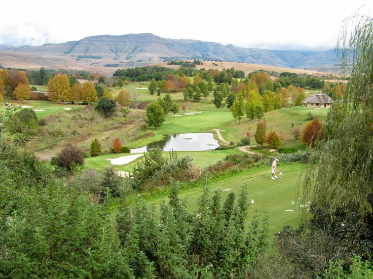 Golfing in the Drakensberg Champagne Sports Resort http://www.n3gateway.com/things-to-do/golfing.htm