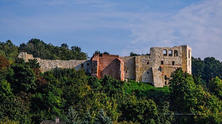 Kazimierz Dolny - Ruiny średniowiecznego zamku w Kazimierzu Dolnym.